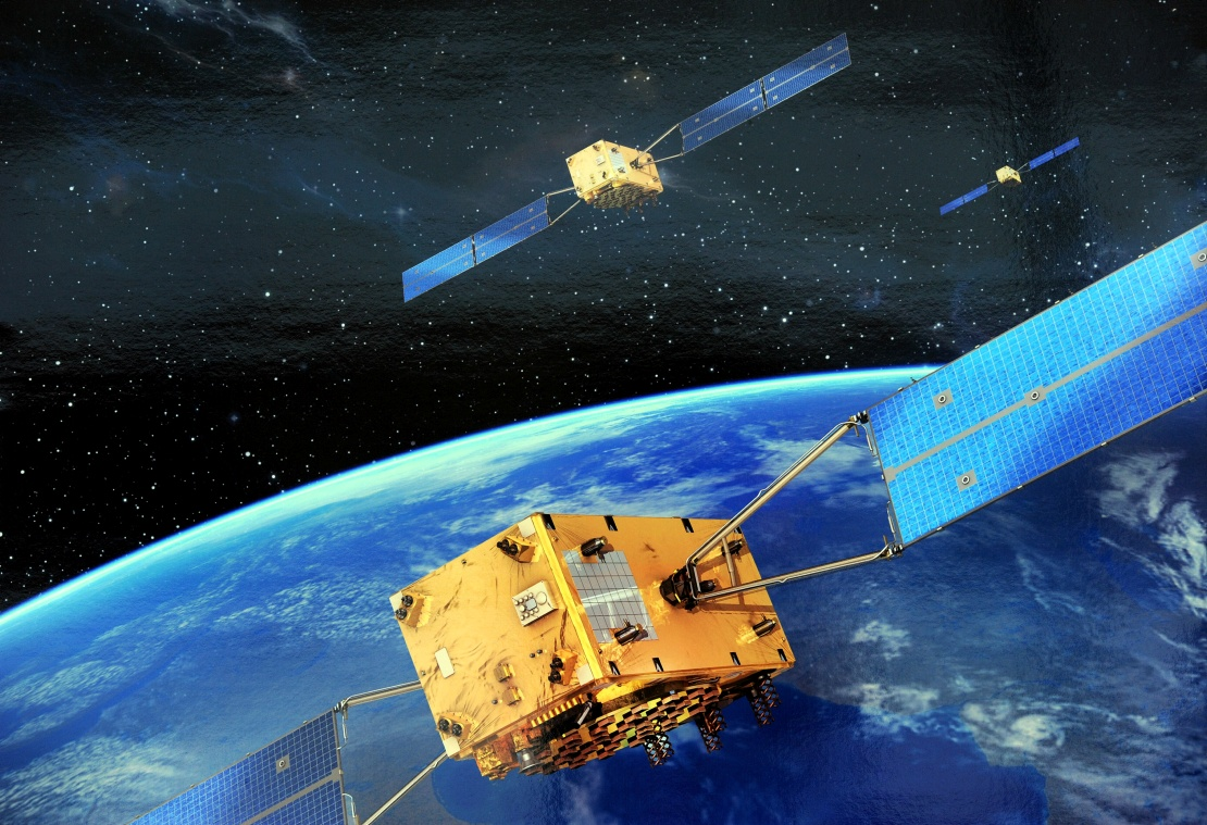 Neue Satelliten