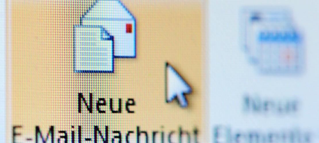 Was passiert, wenn man eine E-Mail verschickt?