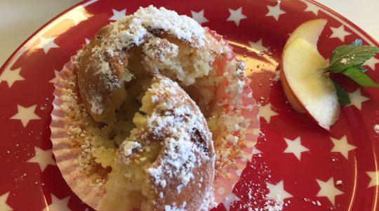 Sie sehen toll aus - und schmecken mindestens genauso toll: Die Apfel-Muffins nach dem Rezept von Charlotte. (Alle Fotos: Charlotte)