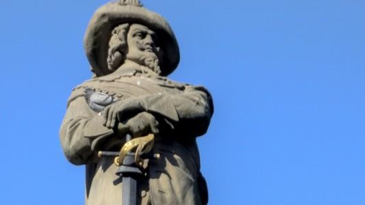 In Köln am Alter Markt steht der Jan-von-Werth-Brunnen und erinnert an das Märchen von Jan und Griet. (Foto: Wikipedia Commons)