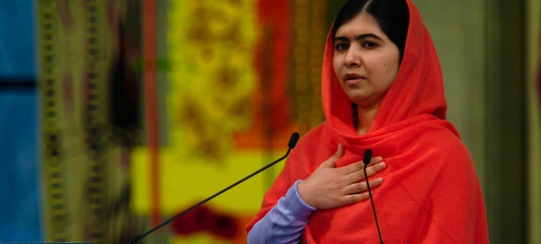 Malala setzt sich für Bildung ein. Ein Film über ihr Leben und ihren Kampf für Bildung ist gerade im Kino zu sehen. (Foto: dpa)