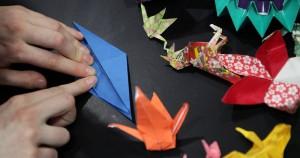 Origami ist eine Falt-Kunst aus Asien. (Foto: dpa)