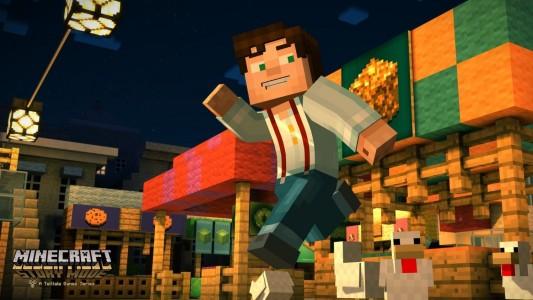 In Minecraft: Story Mode könnt ihr das Spiel durch eure Entscheidungen verändern. (Foto: Screenshot)