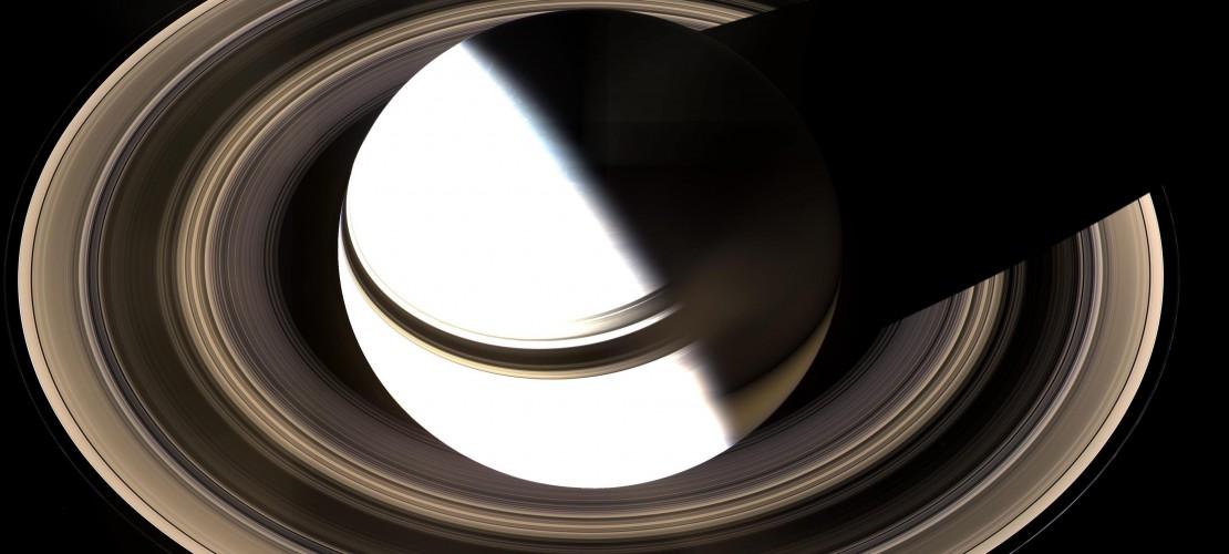 Der Saturn und seine leuchtenden Ringe. (Foto: dpa)