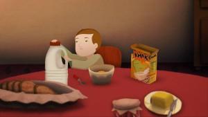 """""""Chez Moi"""" ist ein Comicfilm, in dem nicht gesprochen wird. (Foto: Screenshot)"""