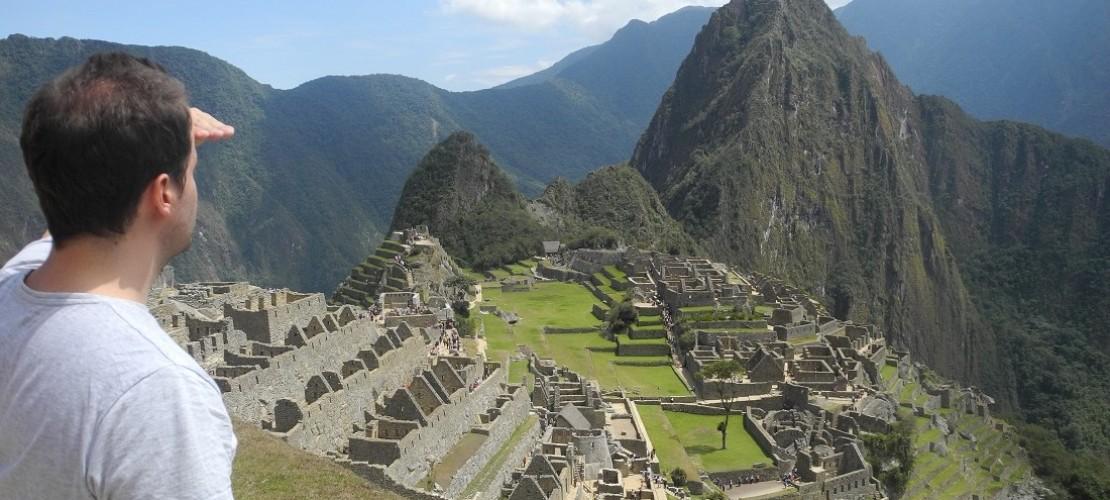 Machu Picchu – Stadt in den Bergen
