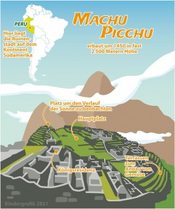 Wo liegt Machu Picchu? (Grafik: dpa)