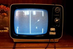 Auf dem Atari konnte man Pong spielen. (Foto: Leister)