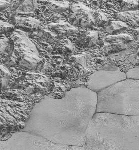 So sieht die Oberfläche des Plutos aus. (Foto: dpa)