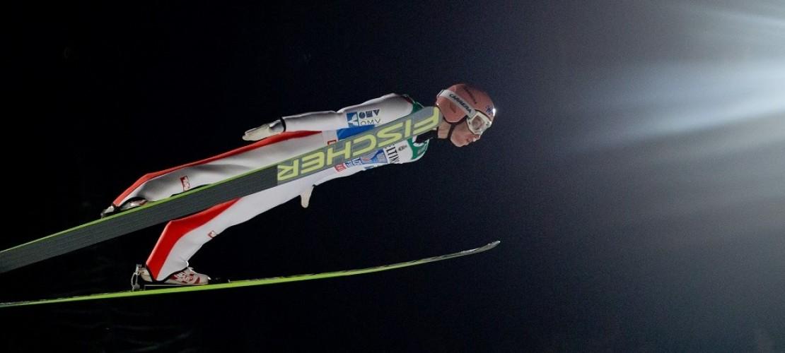 Skispringer heben wieder ab