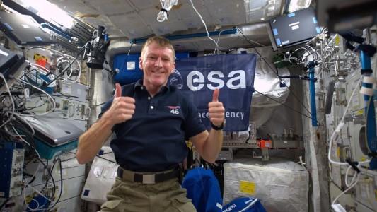 Wie duschen Astronauten?