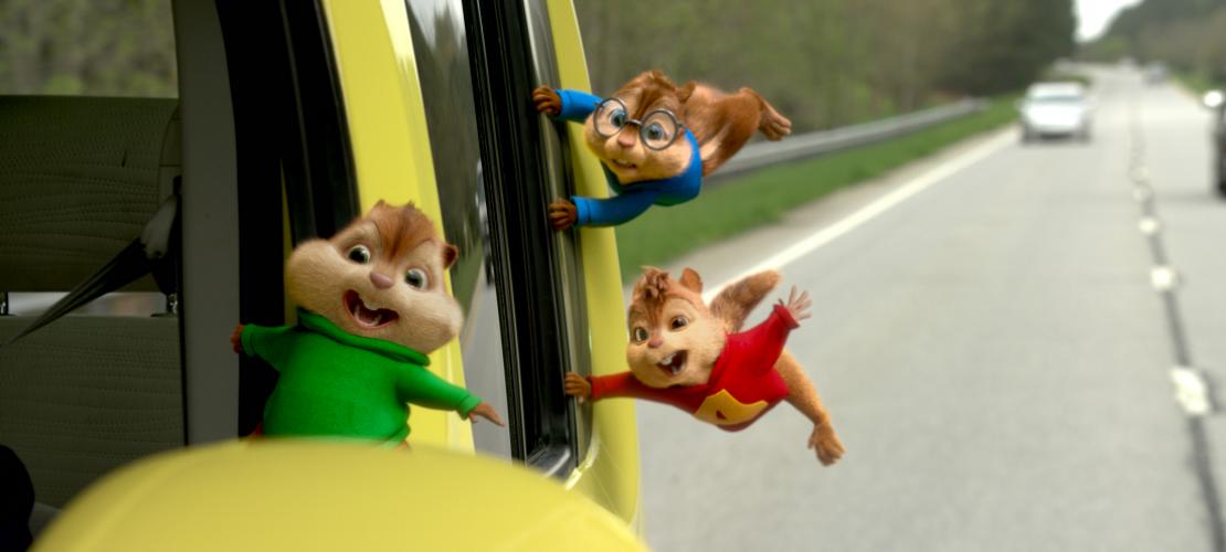 Kino-Tipp: Chipmunks auf Reisen