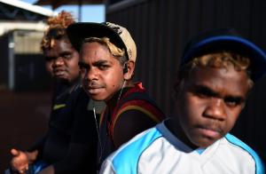 Junge Aborigines heute (Foto: dpa)
