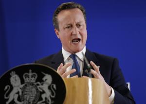 Der britische Staatschef David Cameron (Foto: dpa)