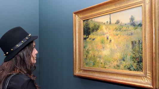 Renoir malte die Schönheit der Welt
