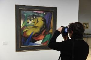 """Marcs Gemälde """"Der Tiger"""" (Foto: dpa)"""