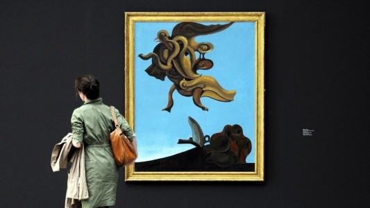 Max Ernst spielte mit dem Zufall