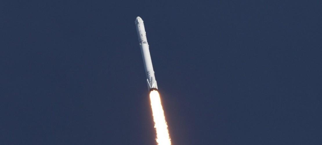 Rakete landet sicher auf der Erde