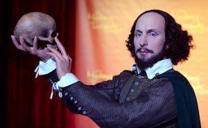Shakespeare als Wachsfigur: So könnte der Dichter ausgesehen haben. Sicher weiß man das aber nicht. (Foto: dpa)