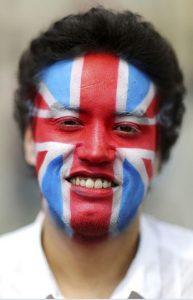 Großbritannien allein auf sich gestellt - dieser junge Mann ist dafür. (Foto: rtr)