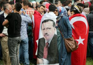 Auch in Deutschland leben viele Türken, die Erdogan gut finden. (Foto: dpa)