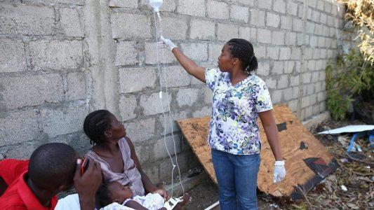Cholera könnte sich ausbreiten