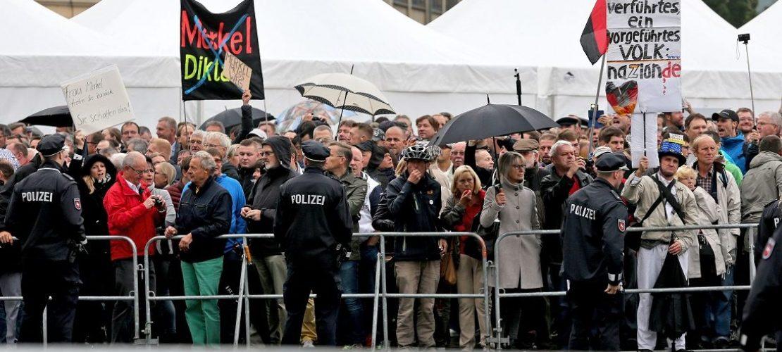 Ärger am Tag der Deutschen Einheit