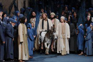 Jesus' Leben wurde im Mittelalter oft auf die Bühne gebracht. (Foto: dpa)