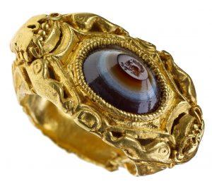 Ein römischer Fingerring (Foto: dpa)
