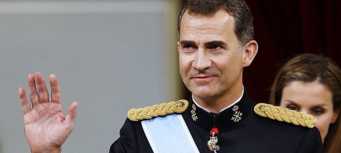 Alles Gute, König Felipe!
