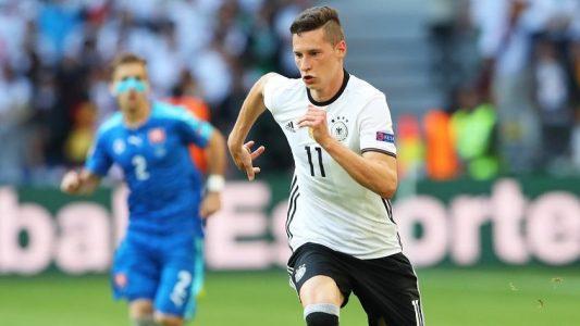 Julian Draxler im Trikot der deutschen Nationalmannschaft (Foto: dpa)