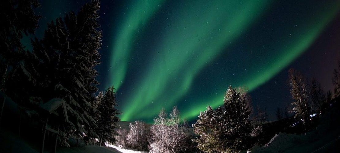 Wie entstehen Polarlichter?