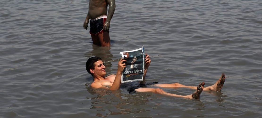 Warum trocknet das Tote Meer aus?