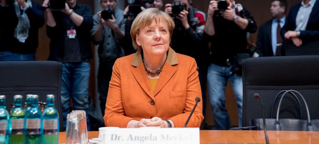 Viele Fragen an Angela Merkel