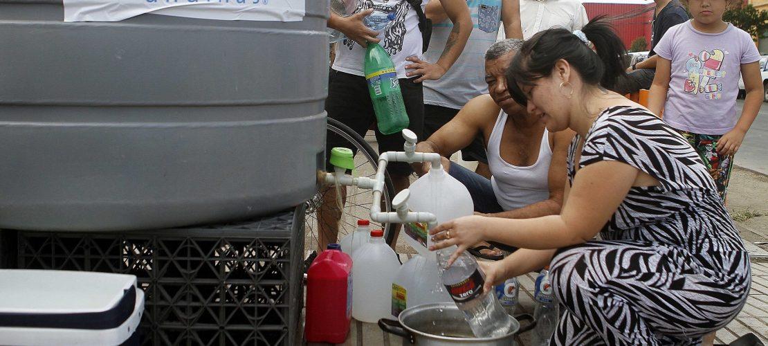 Städte ohne Trinkwasser