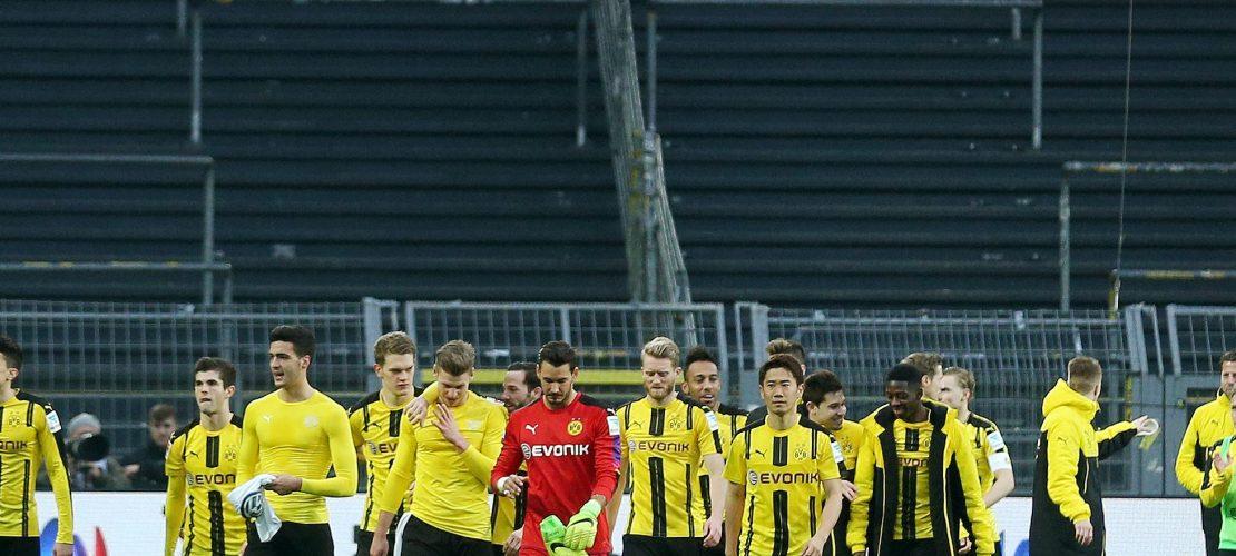 Dortmund gewinnt ohne Fans