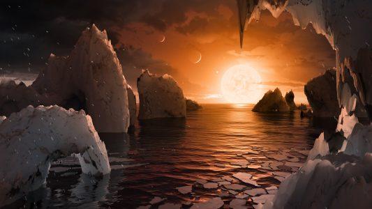 Sieben neue Planeten