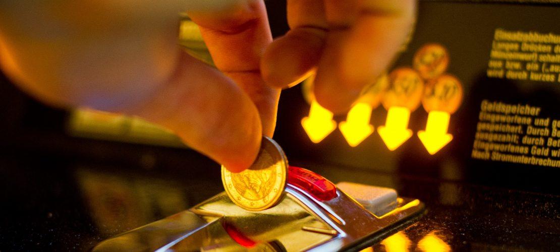 Süchtig nach Glücksspiel