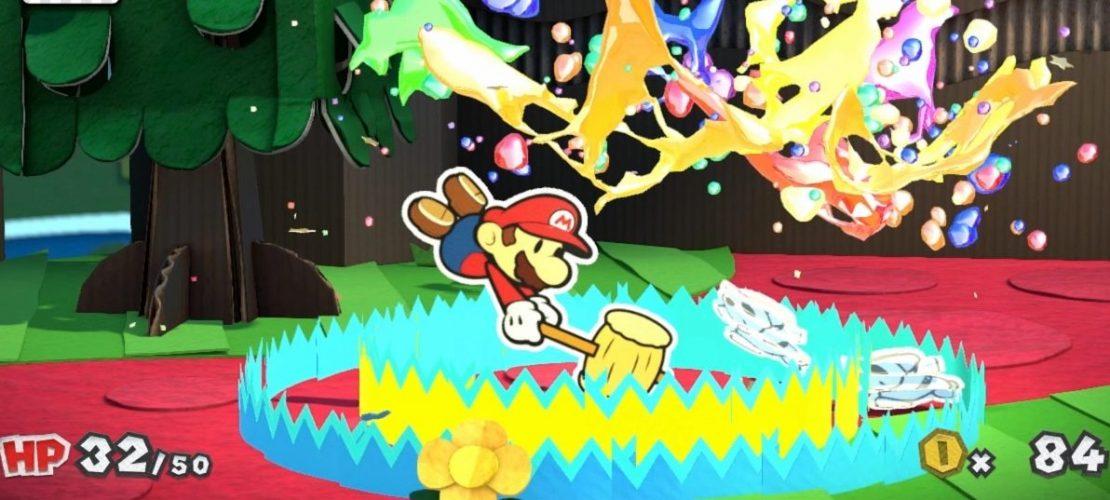 Klicktipp: Mario im Farbenkampf