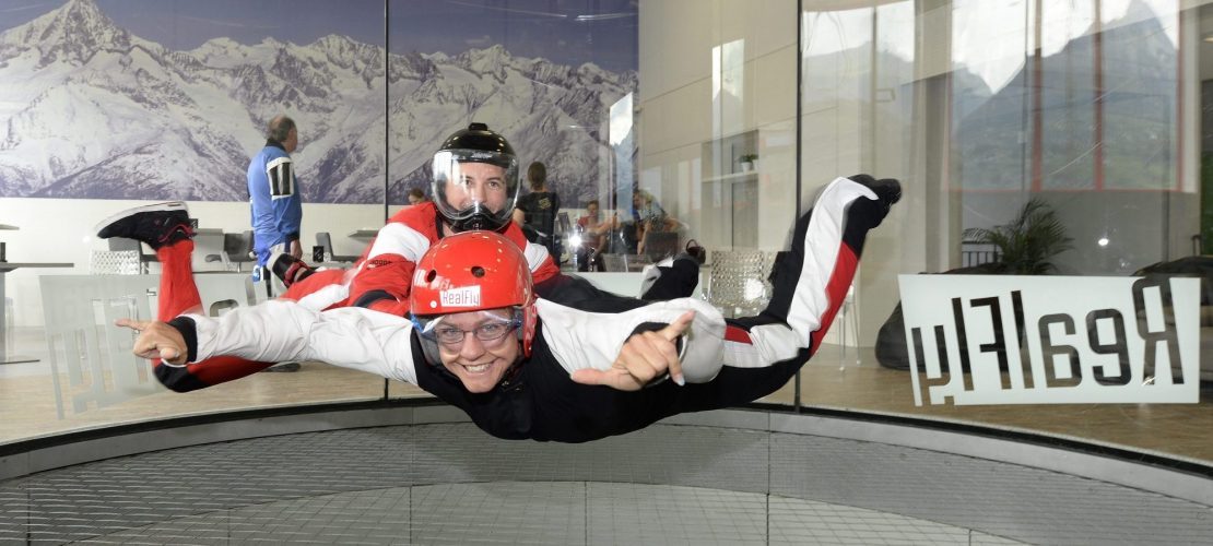 "Was ist ""Indoor Skydiving""?"