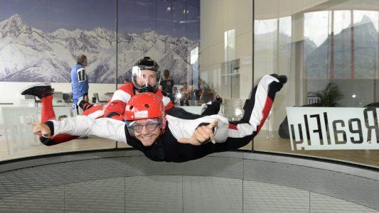 """Was ist """"Indoor Skydiving""""?"""