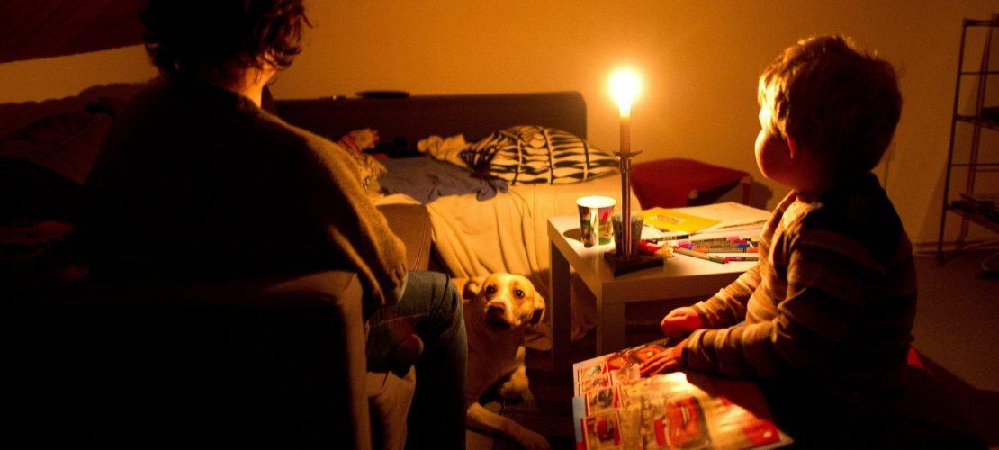 Viele Deutsche leben ohne Strom