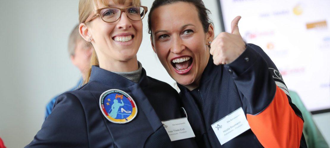 Auf dem Weg zur Astronautin