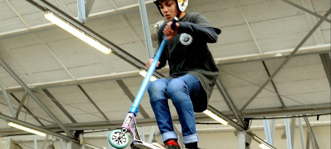Scooterfahren als wahrer Sport