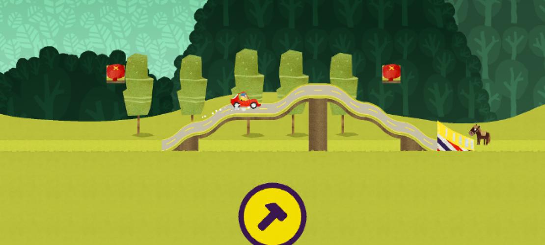 Klicktipp: Mit Fiete Rennen fahren
