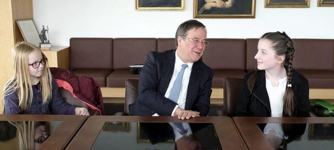 Kinderreporter befragen Armin Laschet