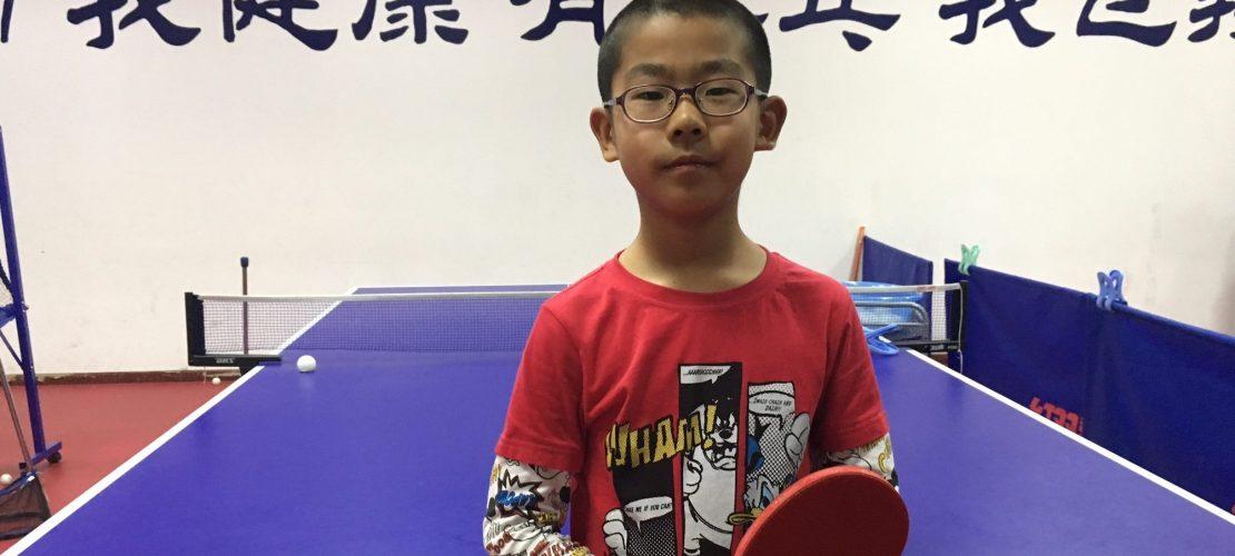 Tischtennis ist der Hit in China