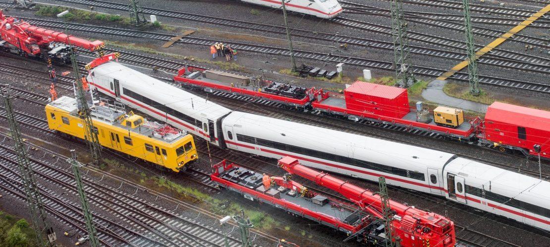 Züge entgleisen selten