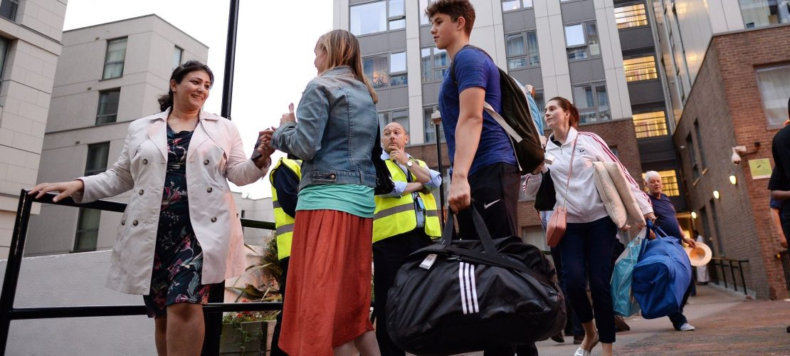 4000 Londoner verlassen Wohnungen