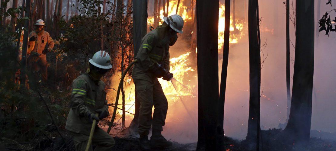 Riesen-Waldbrand in Portugal